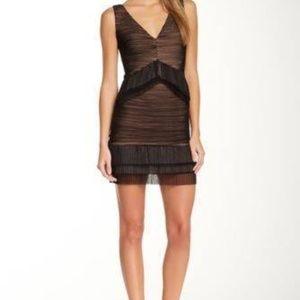 BCBG MAXAZRIA Sven Dress BLACK Size L